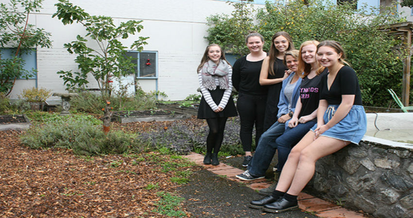 Reynolds Secondary third GREENEST school in Canada! ~ Photo by Dan Ebenal/News Staff