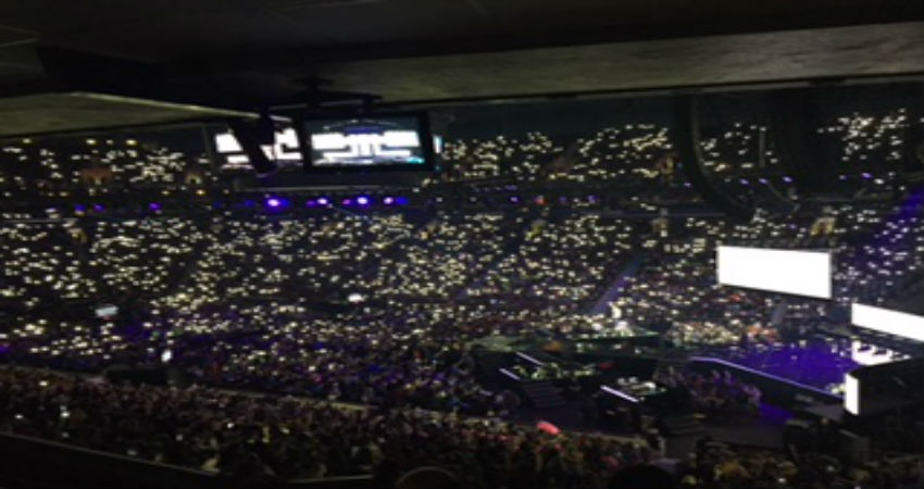 SD 61 Middle and Secondary Students Participate in WE Day at Rogers Arena!