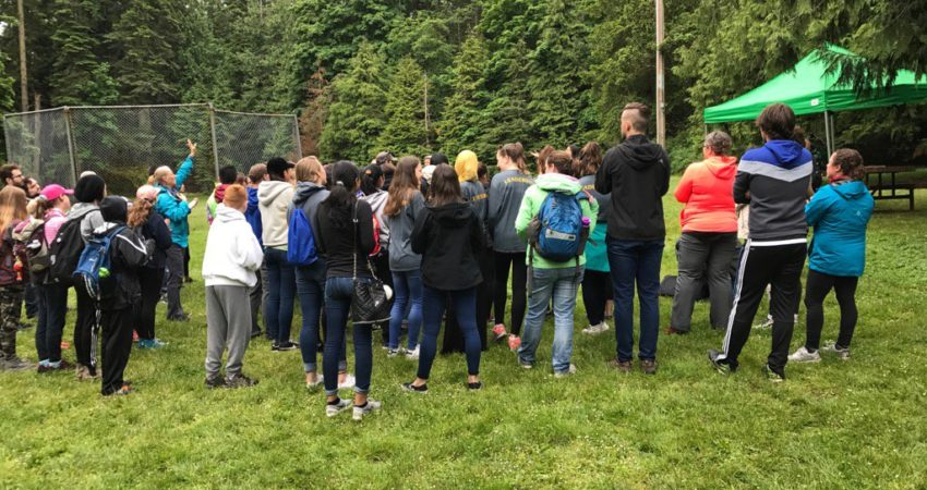 "High School and Middle Schools students participate in ""Leading in Nature"" Conference"